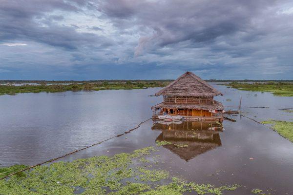 Wasser-Architektur in Peru