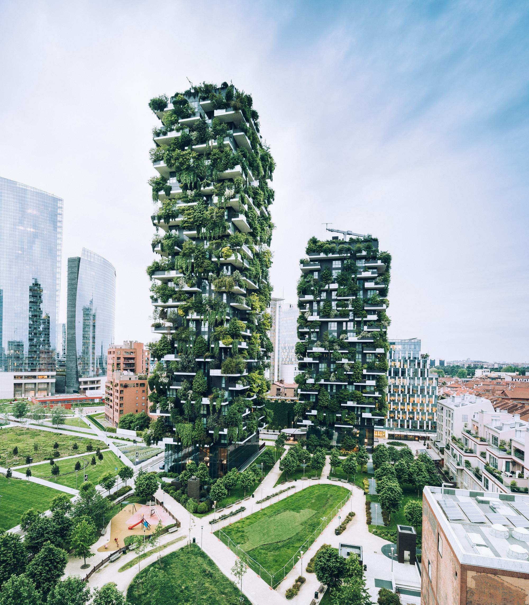 Bosco Verticale- die vertikalen Gärten Mailands