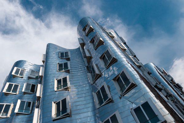 Bauwerk von Gehry in Düsseldorf