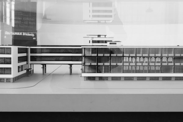 """Der Entwurf der neuen """"Bauhausakademie"""" in Dessau"""